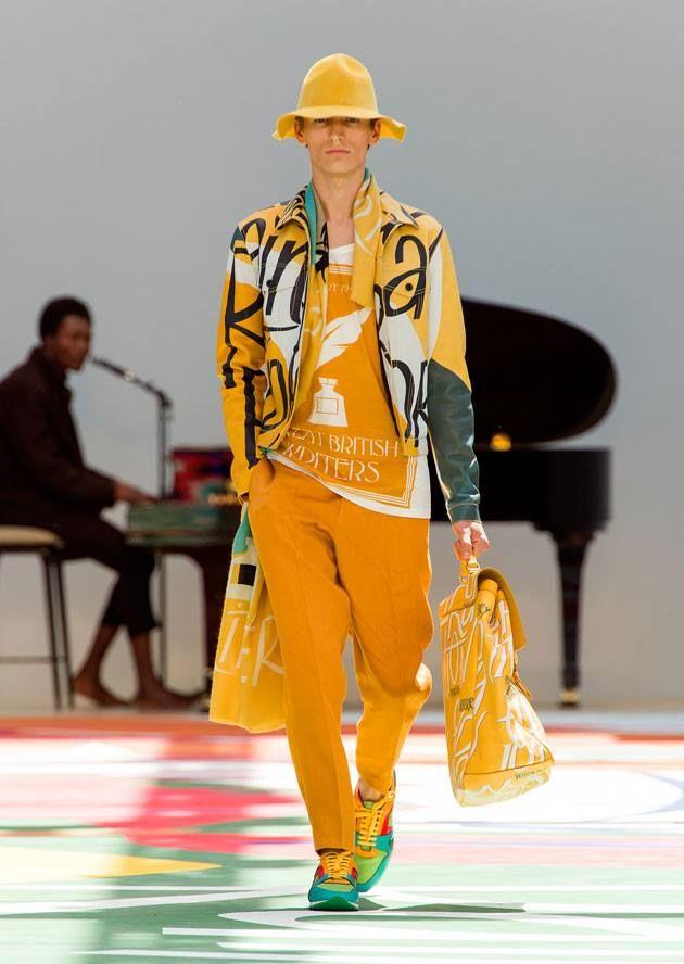 Bom dia com jogo do Brasil e Semana de moda masculina de Milão by Burberry!