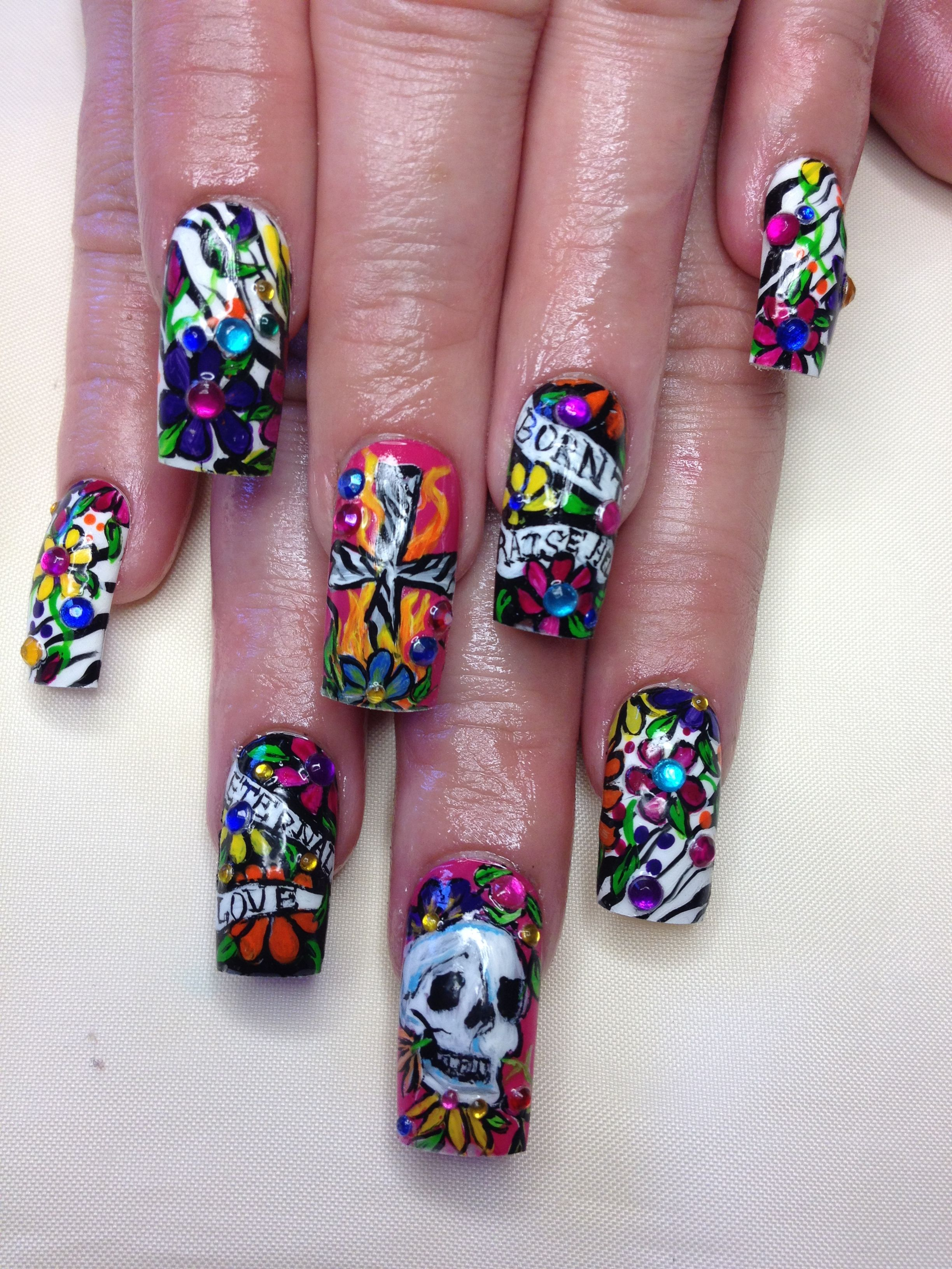 365 Days of Nail Art by nailsmag.com | Expensive Nails | Pinterest ...