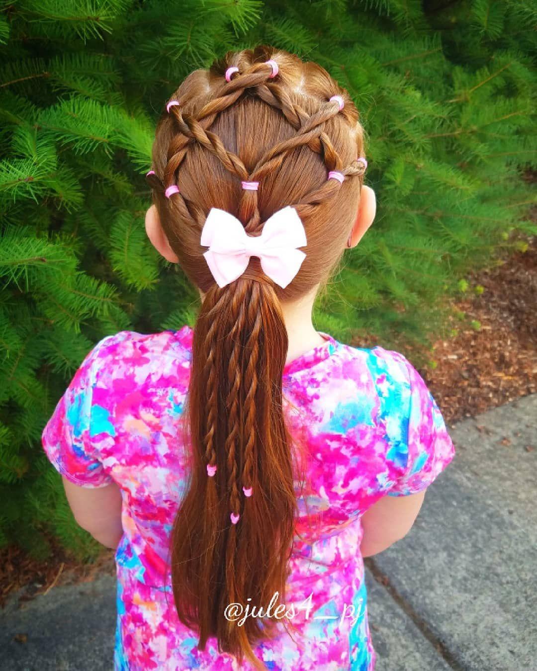 Rope twists braid twists easy braids easy kid hairstyles cute