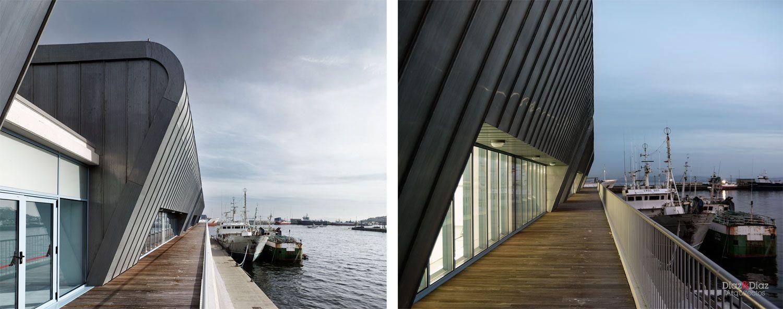 B Arquitectura Portuaria Lonja Ribeira Arquitectura Hormig N  # Muebles Jesus Santiago Ribeira