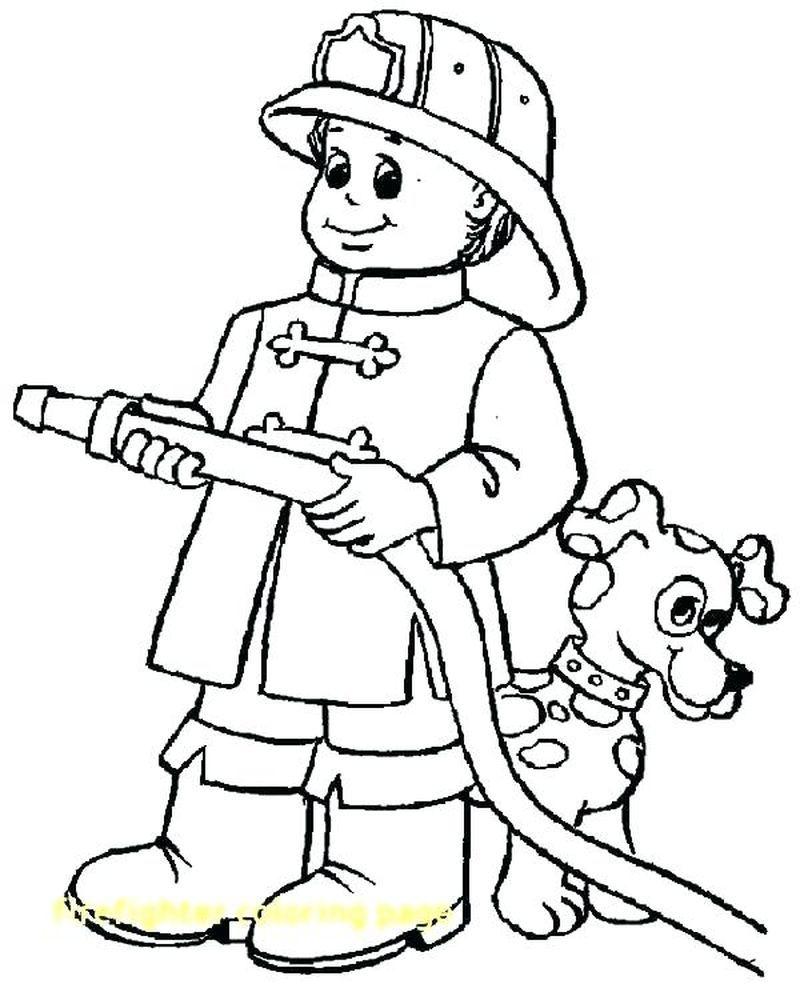 Printable Fireman Coloring Pages ในปี 2020 ภาพ