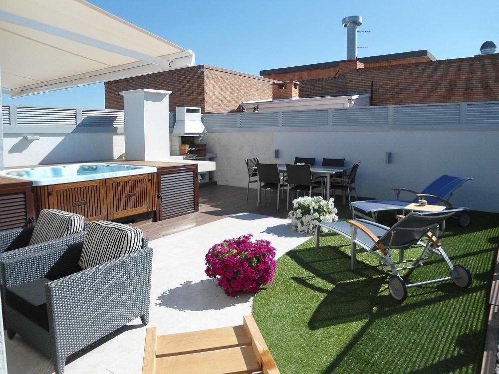 Dsc00047 decoraci n casa en 2019 pisos de terrazas - Jardines en aticos ...