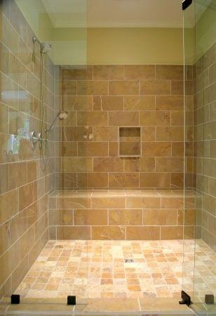 Built-In Shower Bench | Bathroom/Shower Remodeling | Pinterest ...