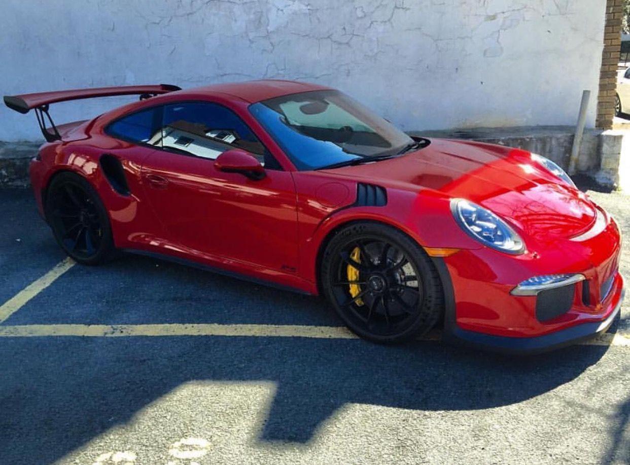 Porsche 991 Gt3 Rs Painted In Paint To Sample Carmine Red Photo Taken By Dimi1 On Instagram Porsche 991 Porsche 991 Gt3 Porsche Cars