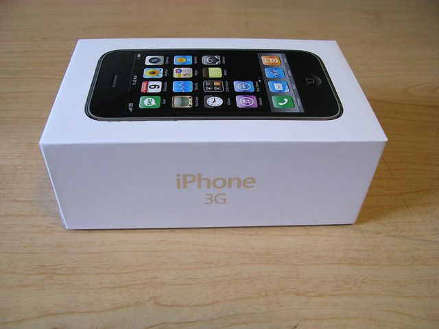 White IPhone 3G Box From The Side Alliphone5cases