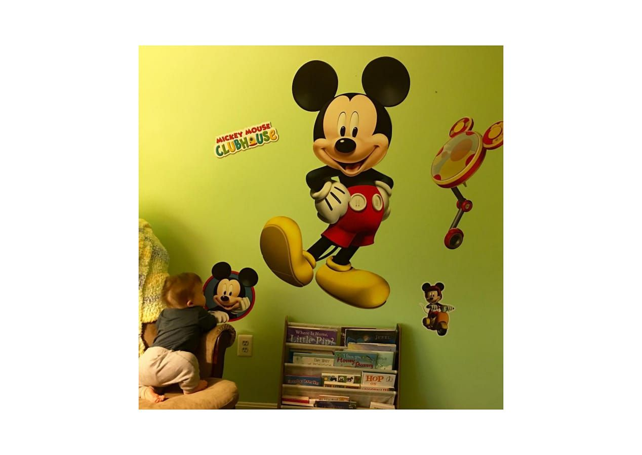 Disney Mickey Mouse Bedroom. Disney Mickey Mouse Clubhouse Wall ...