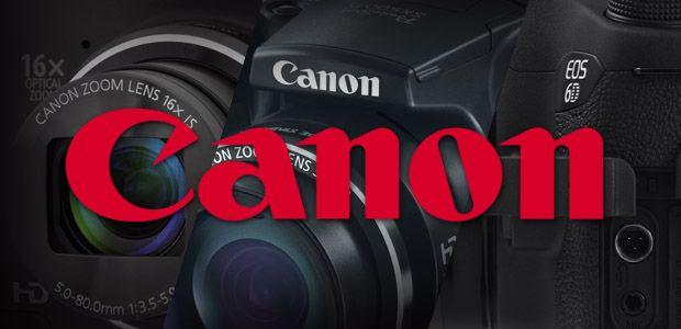 Câmeras digitais Canon (Foto: Reprodução)