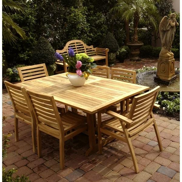Our Best Patio Furniture Deals Patio Furniture Deals Solid Wood Dining Table Patio Dining Table