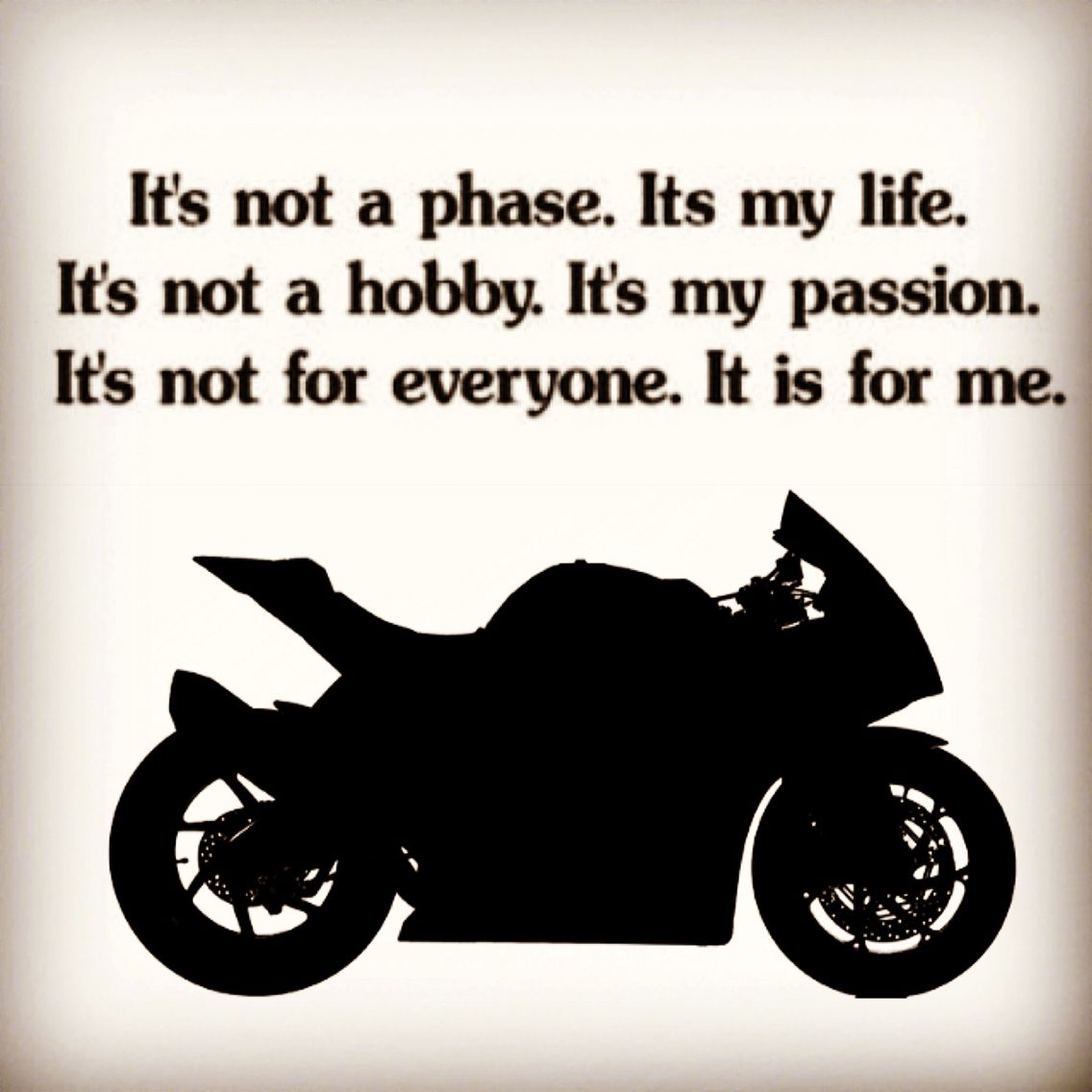 2 Wheels My Passion Bike Quotes Biker Quotes Motorcycle Quotes