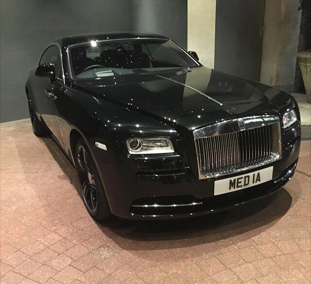 Wonder what industry the owner of this Rolls Royce works in