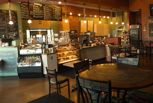 cafe interiors | Daydream Cafe: Interior, from cozy front ...