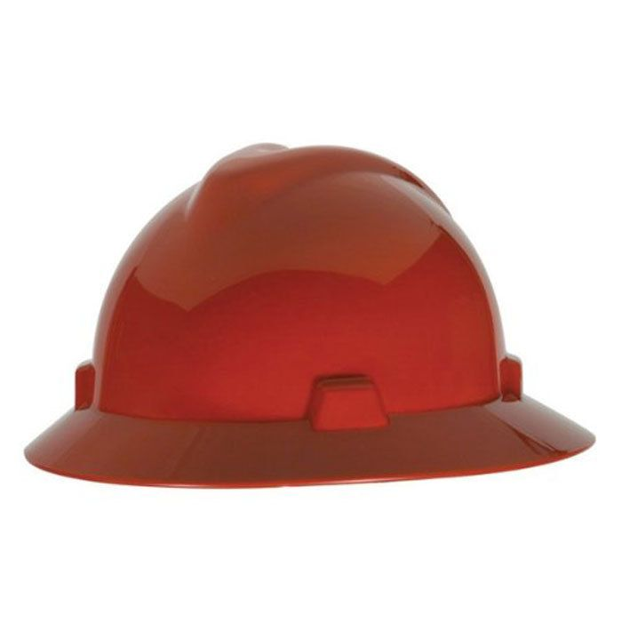 Msa Staz On V Gard Full Brim Hard Hats Hard Hats Hard Hat Accessories Hard Hat