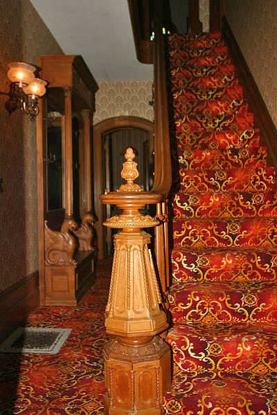 Best Twisted Handrail With Images Newel Posts Handrail 400 x 300