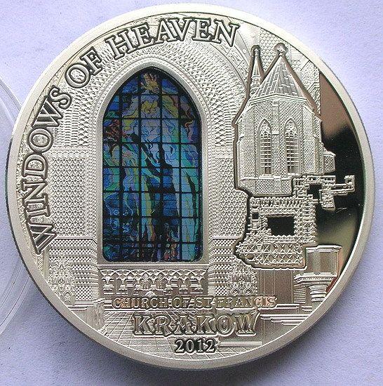 Cook 2012 Krakow Saint Francis 10 Dollars Silver Coin Proof | eBay