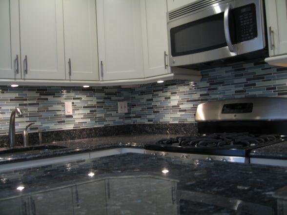 Small Kitchen In Nyc Trendy Kitchen Backsplash Blue Pearl Granite Granite Countertops Kitchen