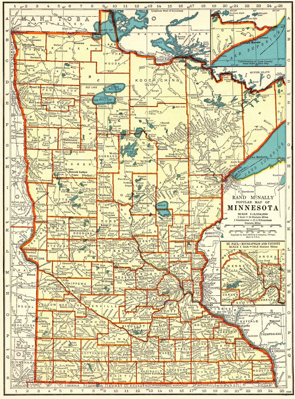 Eagan Mn Canvas Print Minnesota Mn Eagan City Vintage Map Mn Etsy