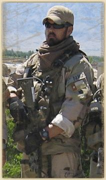 US Navy SEAL Marcus Luttrell. He is the lone survivor of ...
