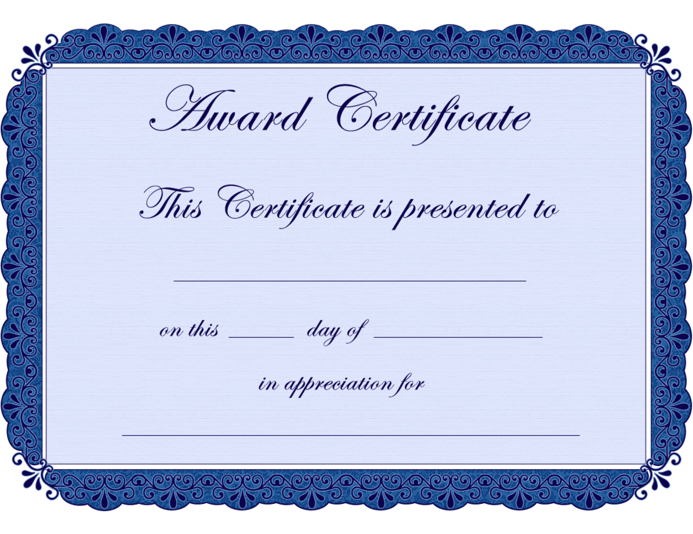 Free printable award certificate borders award certificate free printable award certificate borders award certificate free printable yadclub Image collections