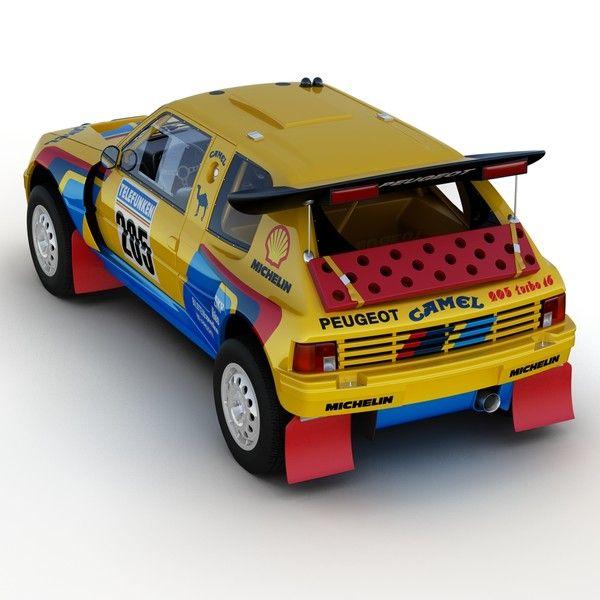 Peugeot 205 T16 Grand Raid - AR