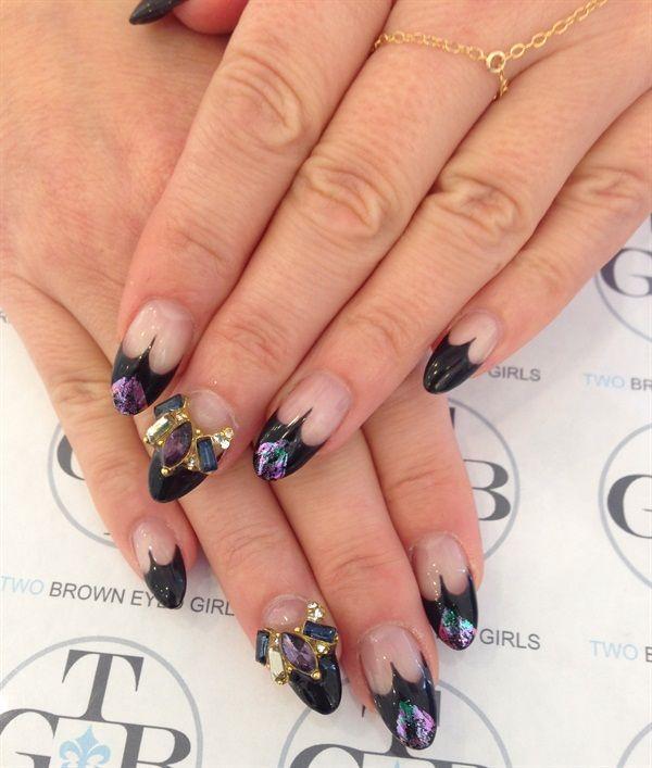 Day 289: Maleficent-Inspired Nail Art | Nails magazine, Art nails ...