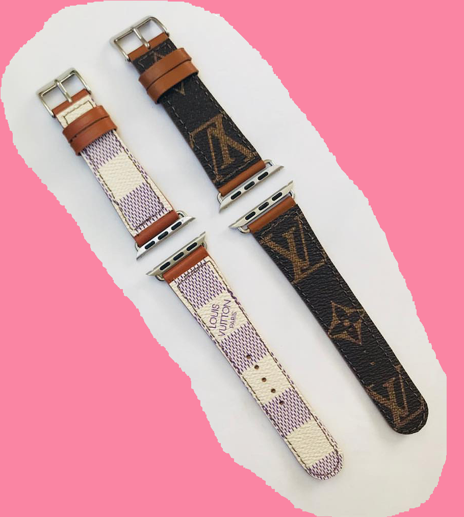 Apple Watch Bands in Louis Vuitton Leather   Christmas