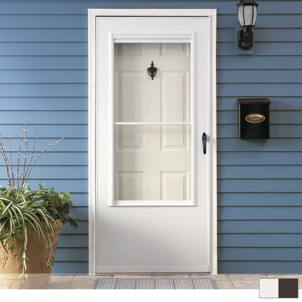 EMCO 200 Series 3/4 View Self-Storing Storm Door | Products