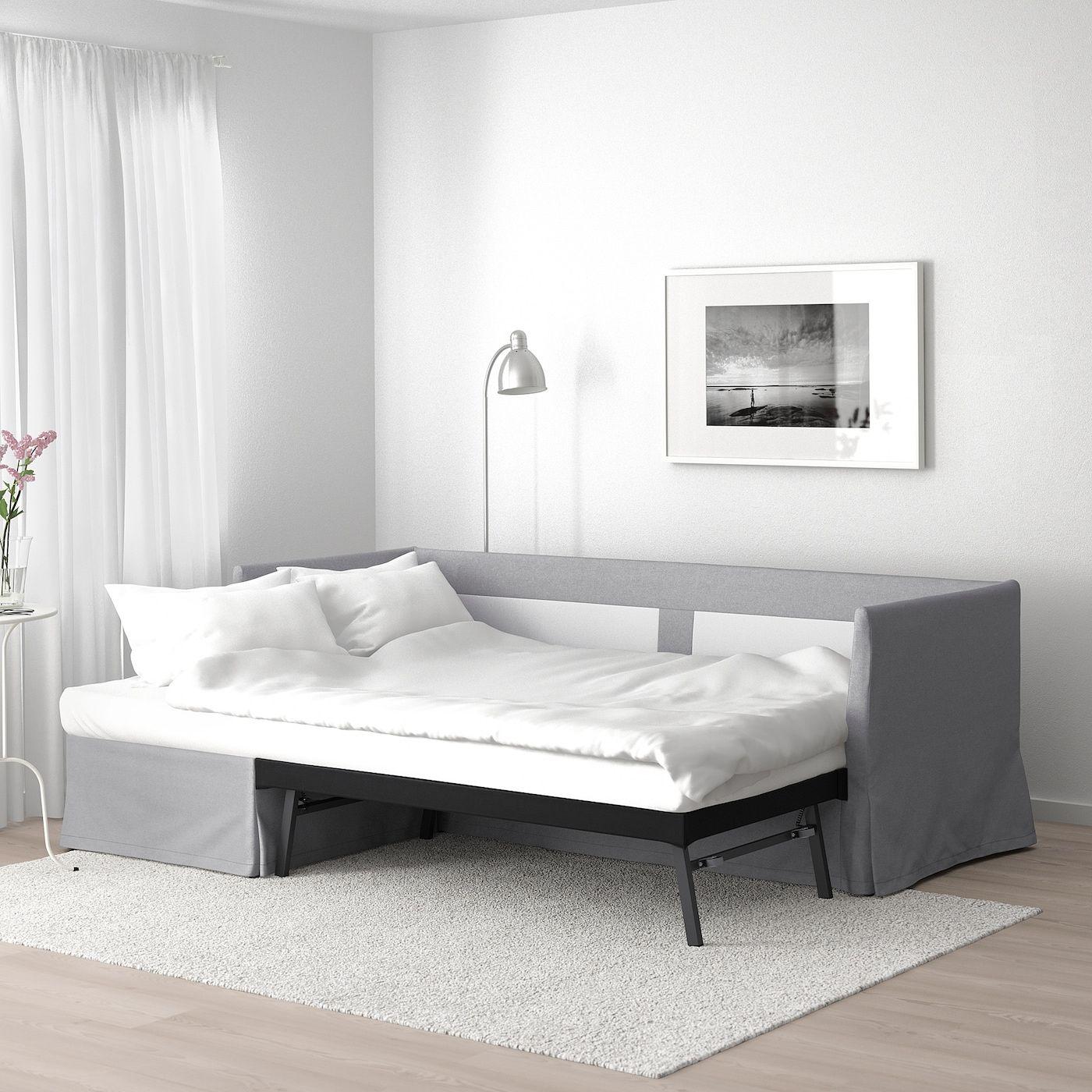 Mobili Bassi Ikea Soggiorno sandbacken divano letto angolare - frillestad grigio chiaro