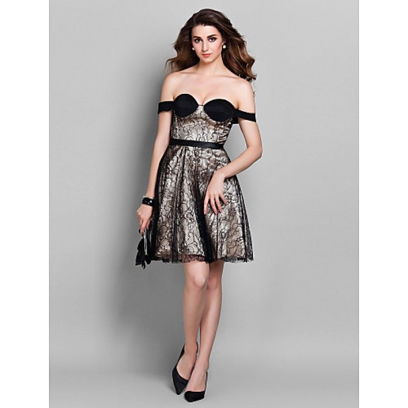 Cocktail party holiday prom dress champagne plus sizes