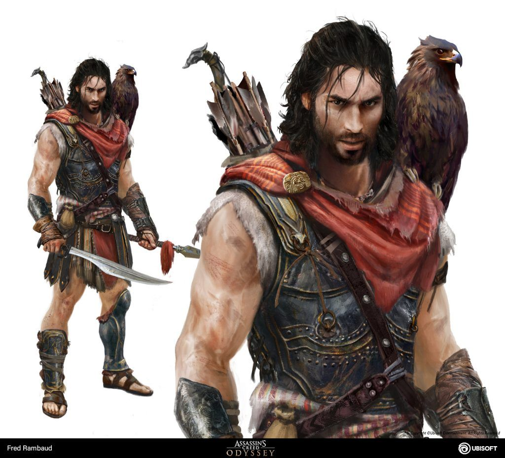 Ubisoft Quebec Assassin S Creed Odyssey Art Blast Artstation