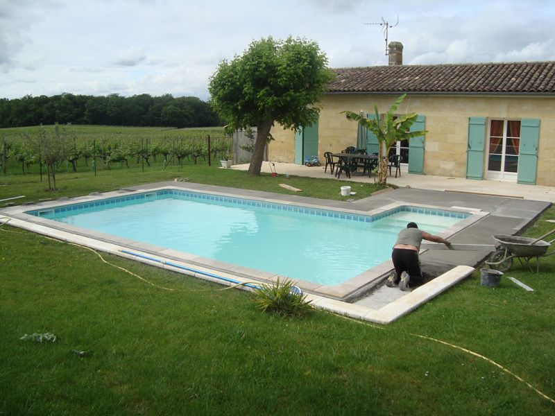 déco terrasse avec piscine | piscine | Pinterest