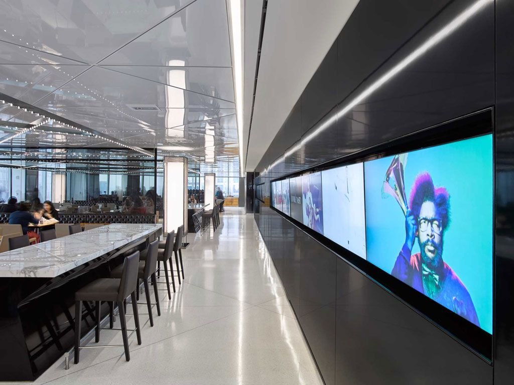 Stretch Ceiling Systems Condé Nast New York Ny Conde Nast Wall Systems Conde