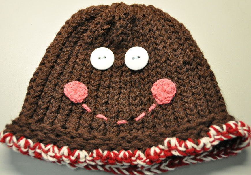 GingerBread Man |Knitting Rays of Hope