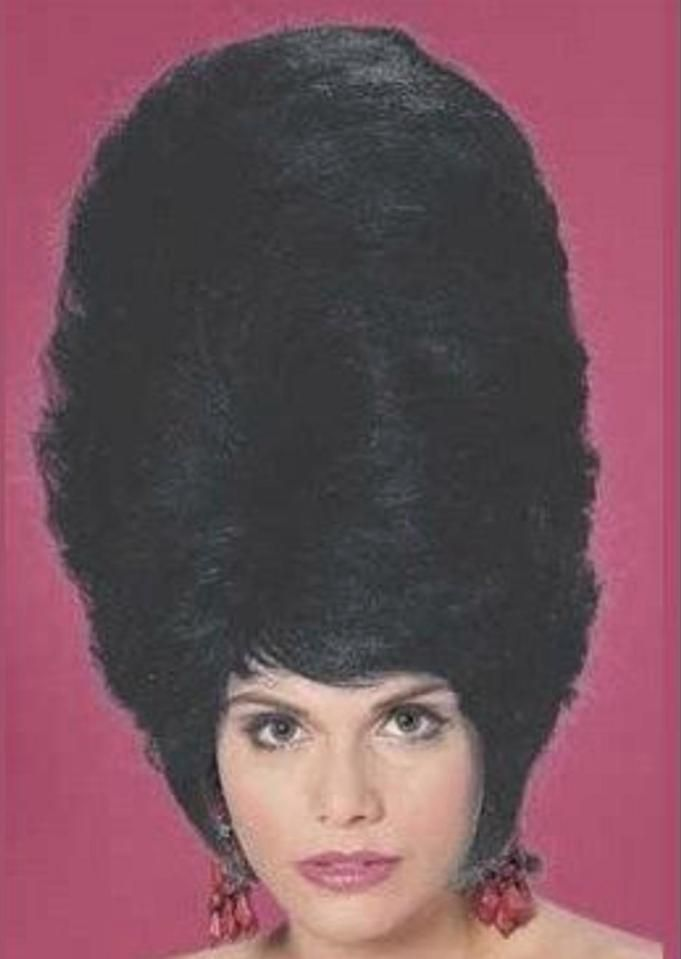 Hair today, hopefully gone tomorrow - the wackiest retro hairstyles in photos