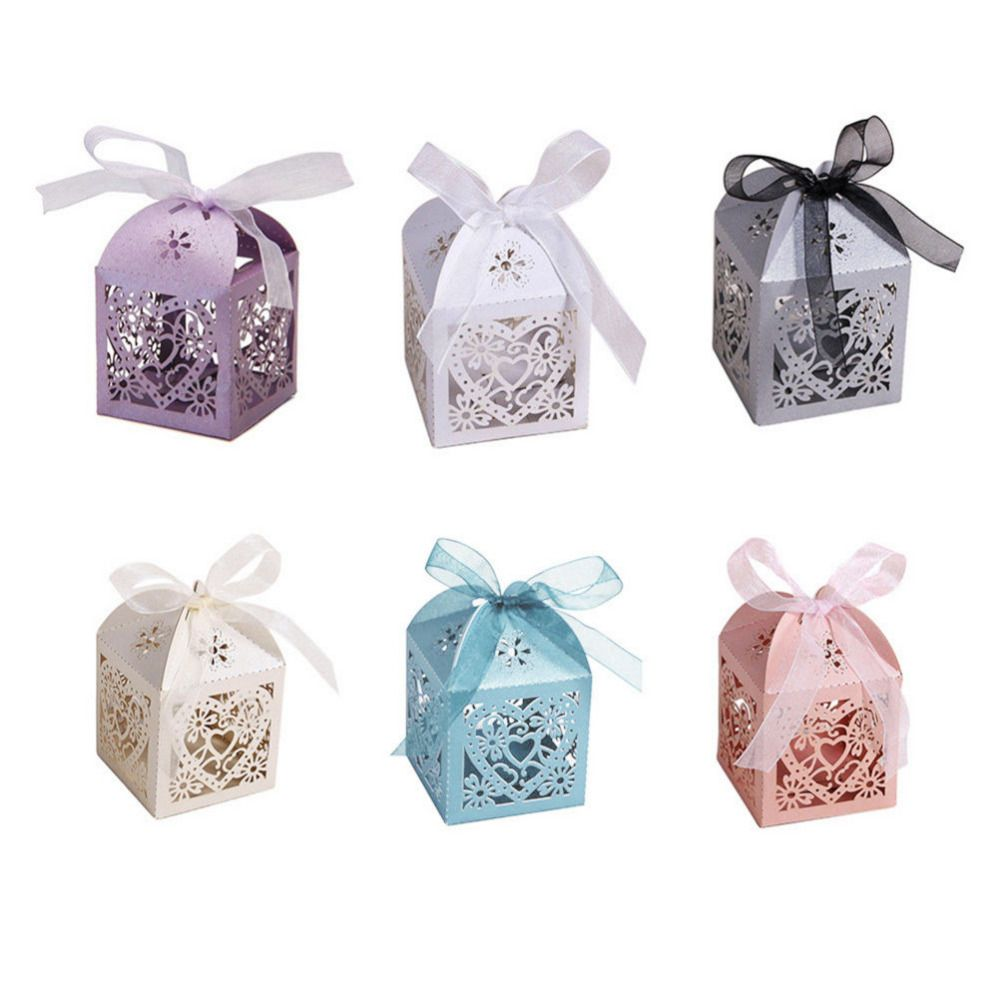 NEW 10Pcs/set Gifts Candy Boxes Gifts box Wedding Party Supplies ...