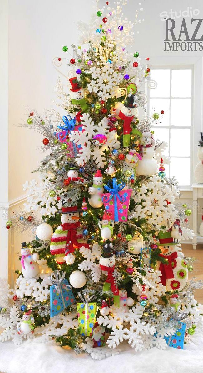 Bigger Is Always Better When It Comes To Christmas Decorations Not Only Do Large Ornamen Different Christmas Trees Christmas Tree Themes Christmas Decorations