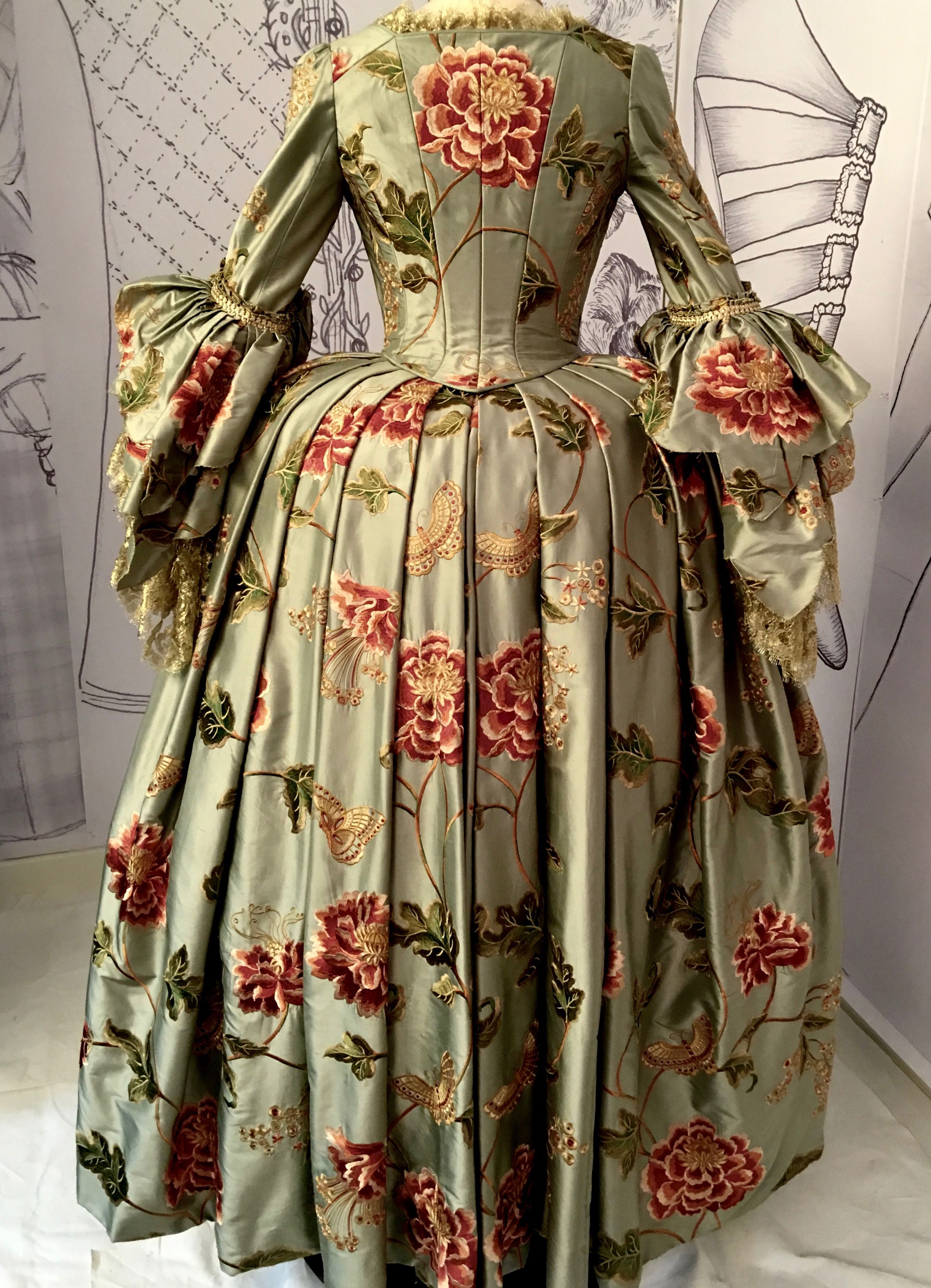Louise at Versailles gown - Outlander costume designer Terry Dresbach 779e0a926