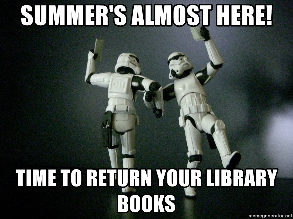 Star Wars Payday Summer S Almost Here Time To Return Your