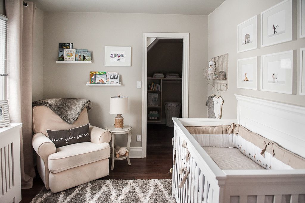 7 Inspiring Kid Room Color Options For Your Little Ones: Jacob's Soothing Safari Nursery