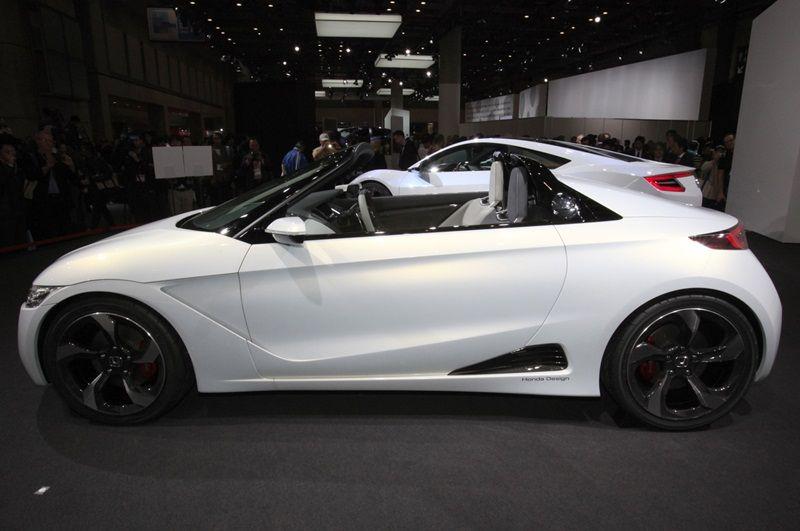 2013 Honda S660 Concept Side Angle Specs Car Pinterest Honda