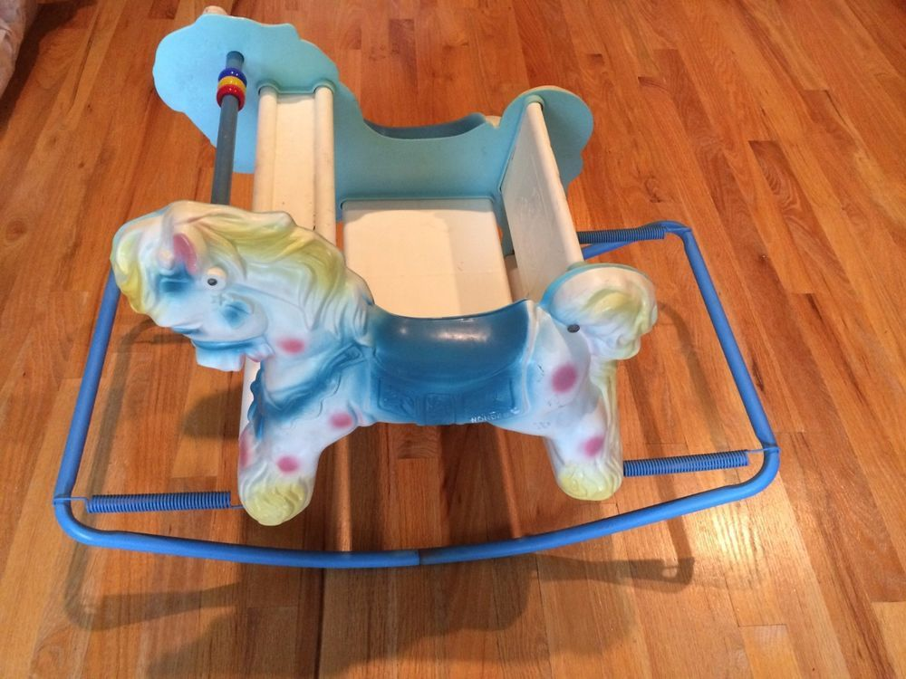 Vintage 1950s 1960s Wonder Shoo Fly Rocking Horse Bouncer