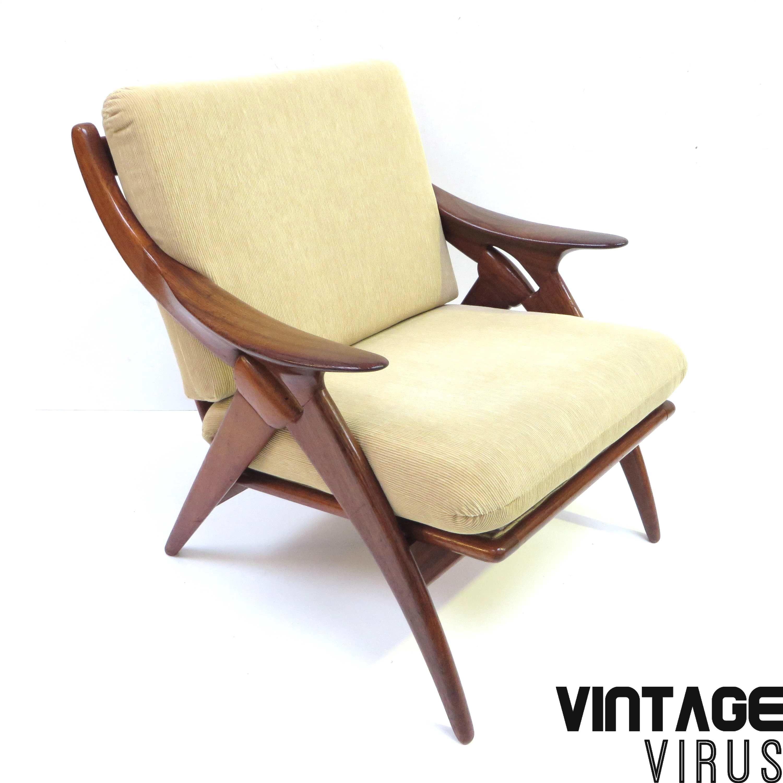Vintage Design Fauteuil.Vintage Design Fauteuil De Knoop Van De Ster Gelderland Met