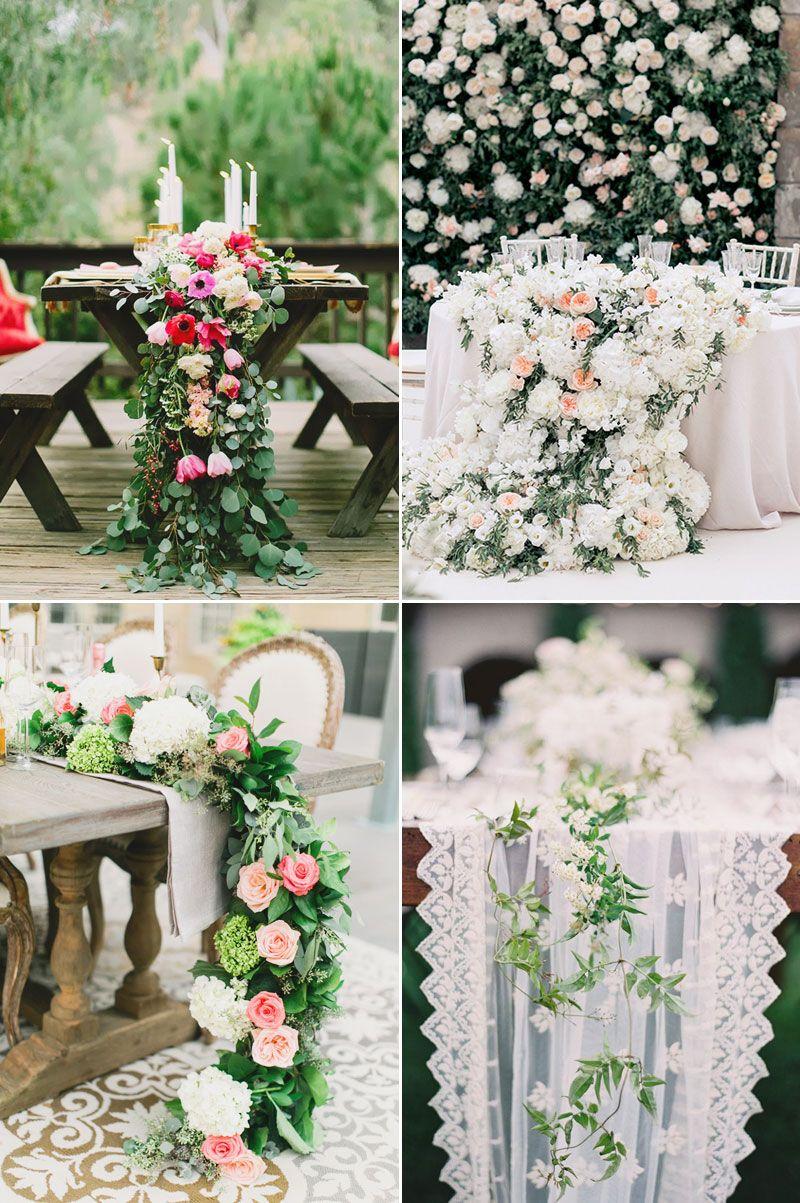 30 Stylish Ways to Create A Lush, Flower-Filled Wedding! - Praise Wedding | Wedding  flower decorations, Enchanted garden wedding, Reception flowers