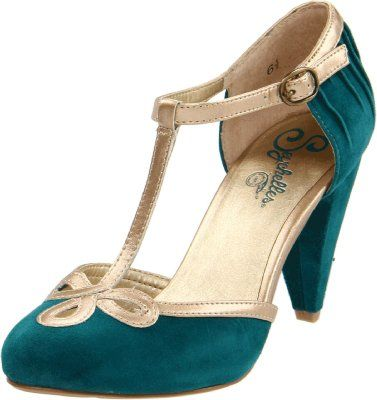 Seychelles Women S All Dressed Up T Strap Pump Teal 8 5 M Us