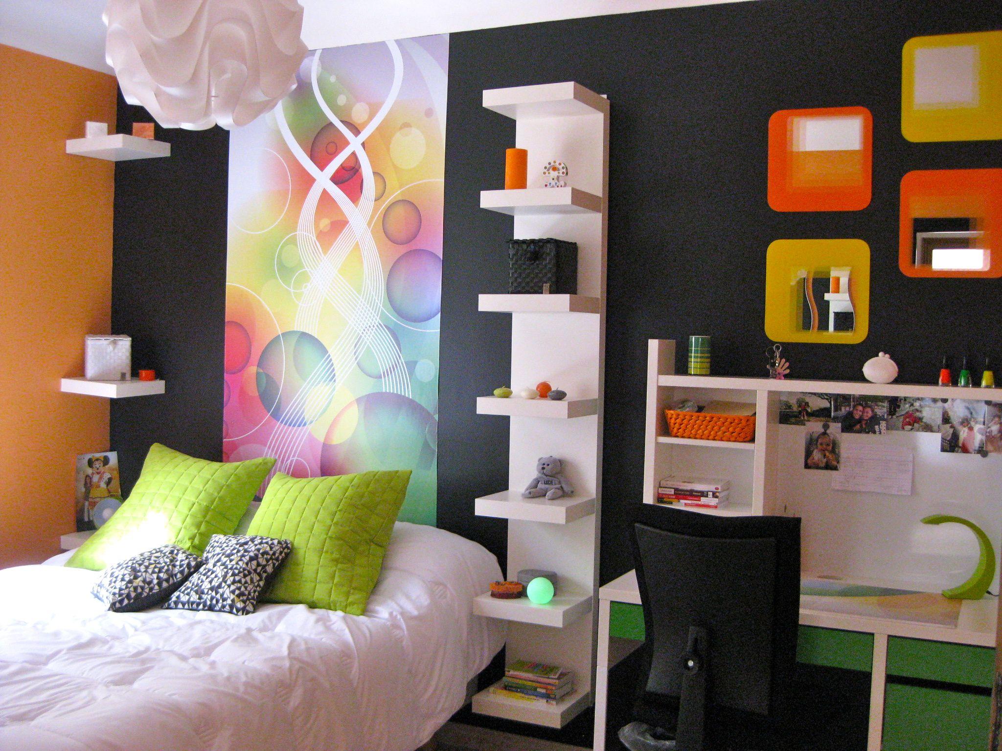 Cotignac, chambre fille 12 ans thème : la Zumba | chambre filles ...