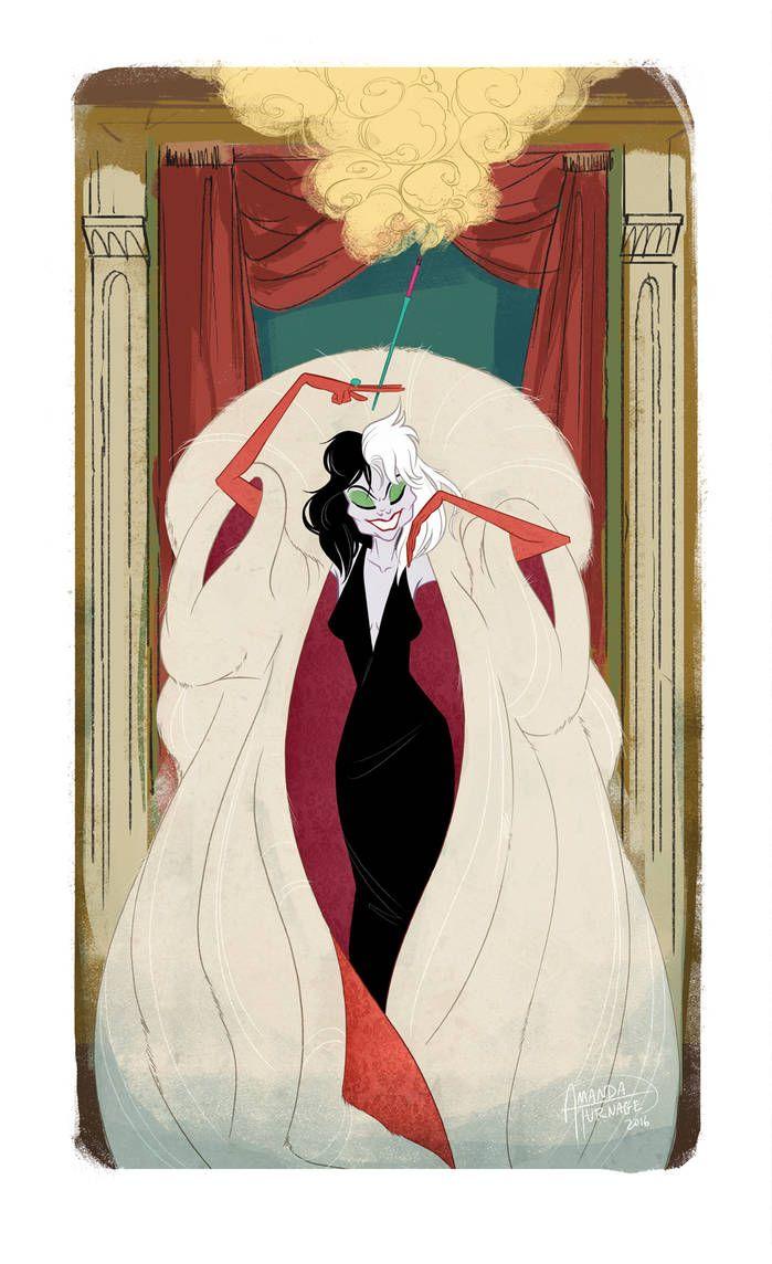 Cruella De Vil by AmandaTurnage on DeviantArt