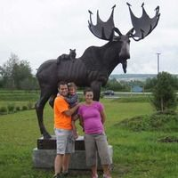 Van Buren, ME - Maine Tribute Moose