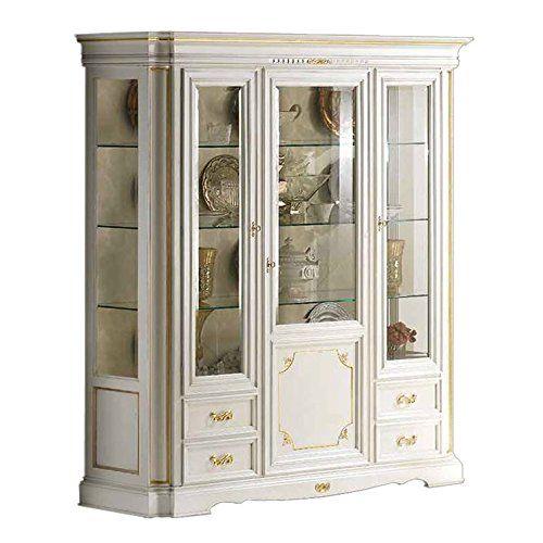 Living Room Cabinet Design Singapore: Artigiani Veneti Riuniti Living Display Cabinet In White