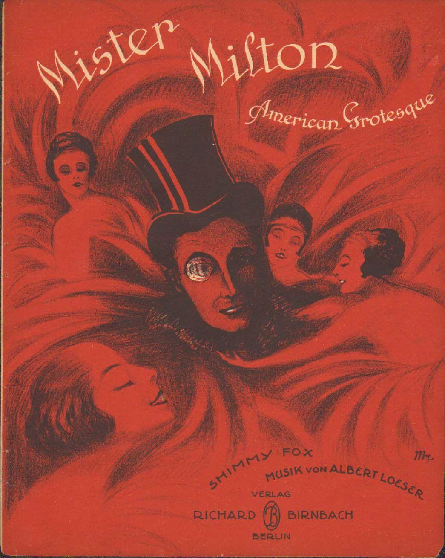 Mister Milton Art deco