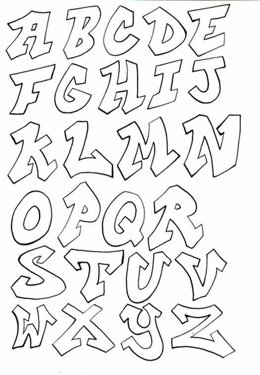 How To Draw Cool Alphabet Letters