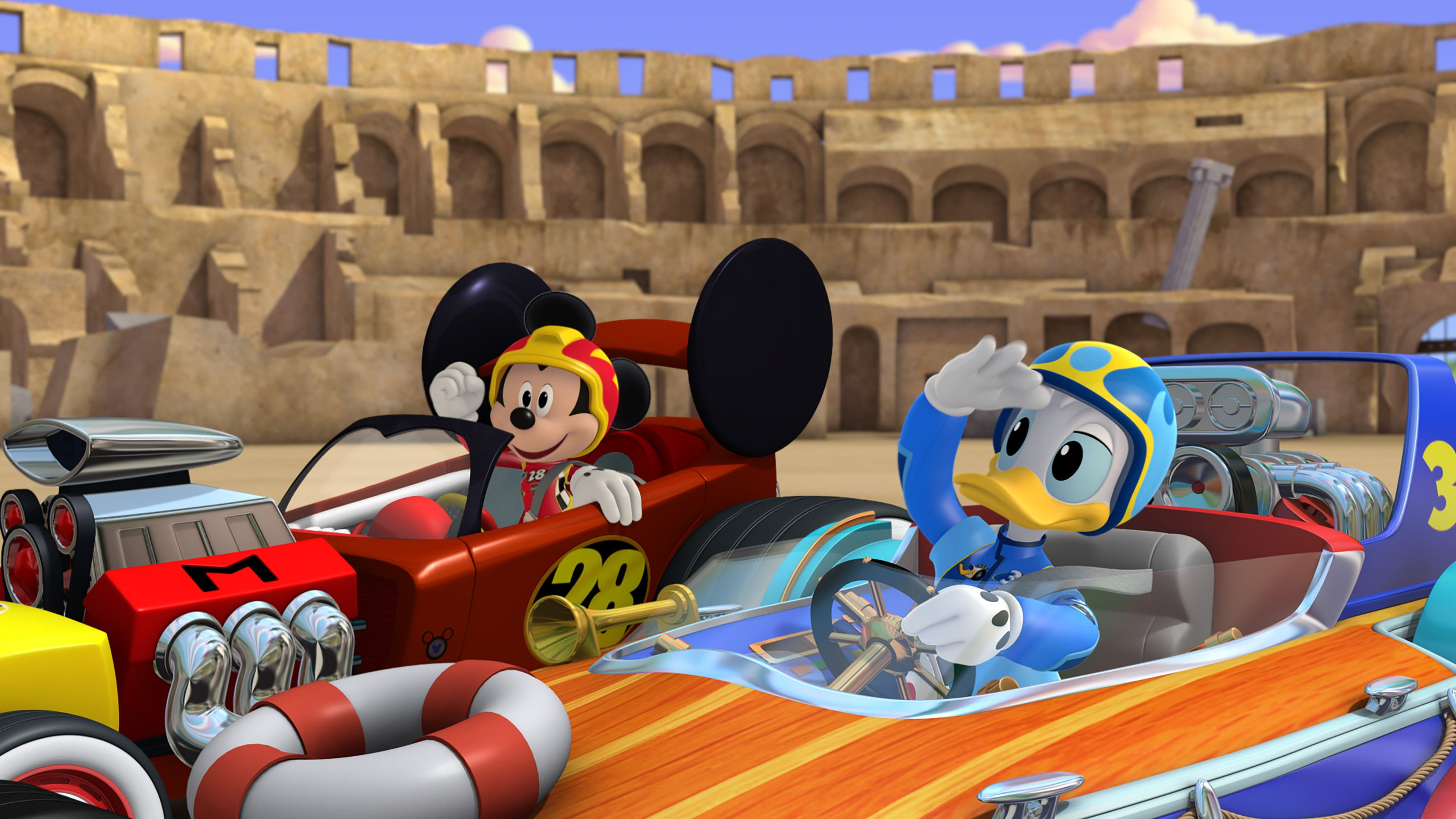 pinlmi kids disney on mickey & the roadster racers / mickey